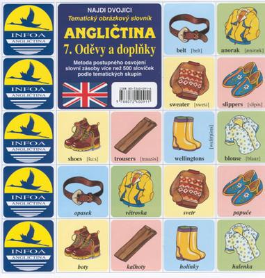 Obrázok Angličtina  7. Oděvy a doplňky