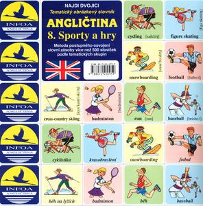 Obrázok Angličtina  8. Sporty a hry