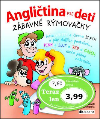 Obrázok Angličtina pre deti Zábavné rýmovačky