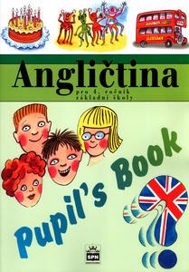 Obrázok Angličtina pro 4.r.ZŠ Pupiľs Book