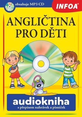 Obrázok Angličtina pro děti Audiokniha s přepisem nahrávek a písniček