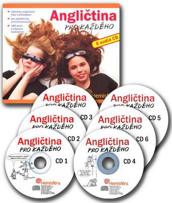 Obrázok Angličtina pro každého + 6 audio CD