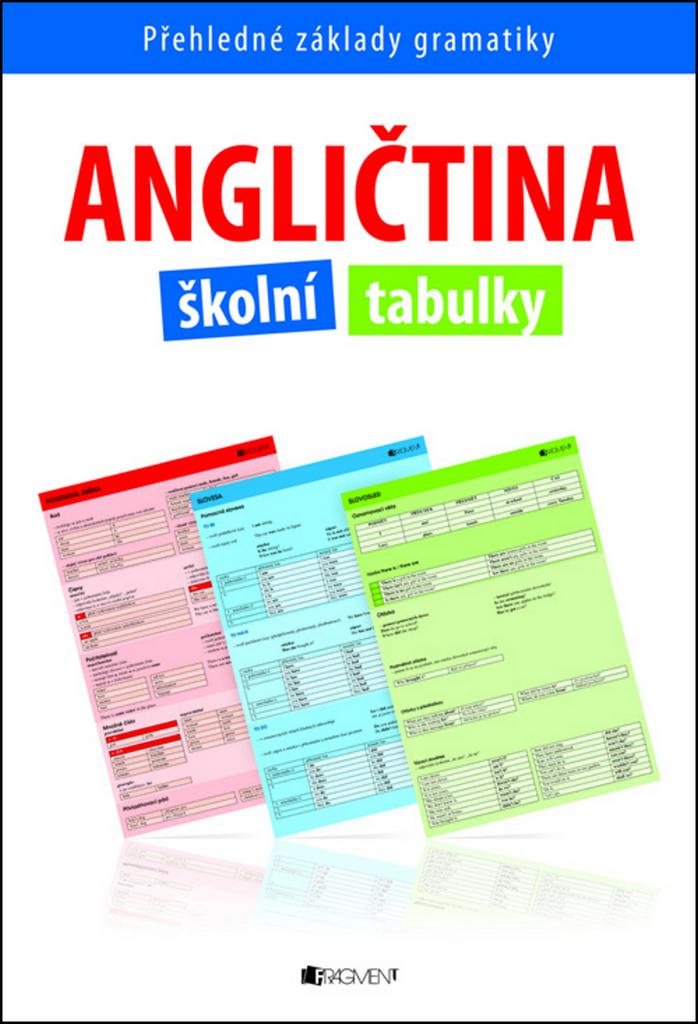 Angličtina školní tabulky - Ing. Iva Dostálová