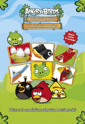 Obrázok Angry Birds Papírové hrátky