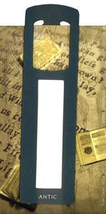 Obrázok Antická záložka Mince tmavě zelená - AZ 003