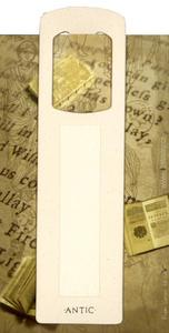 Obrázok Antická záložka Text krémová - AZ 014