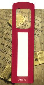 Obrázok Antická záložka Text tmavě červená - AZ 012