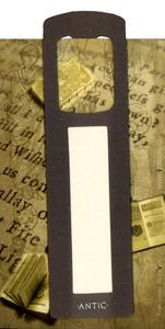 Obrázok Antická záložka Text tmavě šedá - AZ 015
