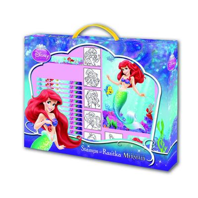 Ariel - razítka v kufříku
