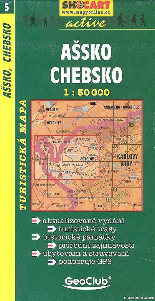 Ašsko Chebsko 005 1:50 000