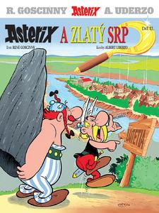 Obrázok Asterix a  Zlatý srp