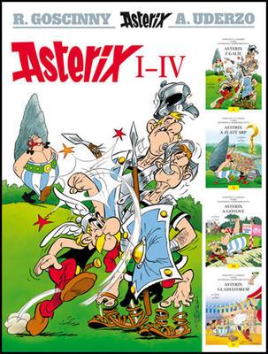 Obrázok Asterix I - IV