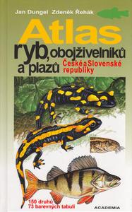 Obrázok Atlas ryb, obojživelníků a plazů České a Slovenské republiky