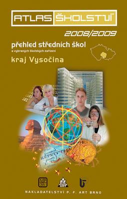 Obrázok Atlas školství 2008/2009 kraj Vysočina
