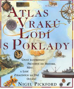 Obrázok Atlas vraků lodí s poklady