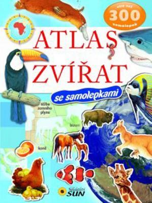 Atlas zvířat se samolepkami