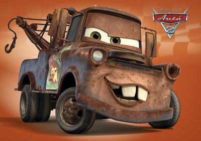 Autá 2 Mater