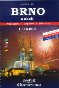Obrázok Autoatlas Brno a okolí