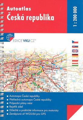 Obrázok Autoatlas Česká republika
