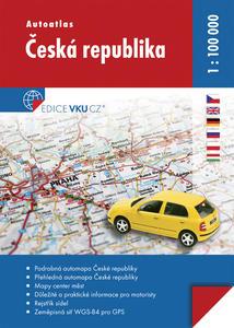 Obrázok Autoatlas Česká republika 1 : 100 000