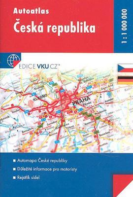 Obrázok Autoatlas Česká Republika 1:1 000 000