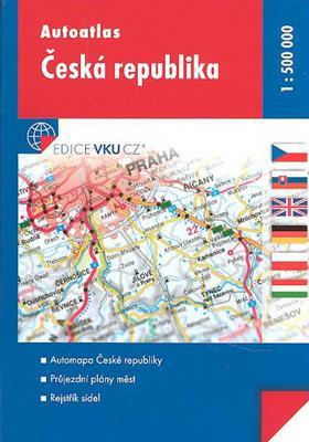 Autoatlas Česká republika 1:500 000