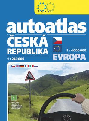 Obrázok Autoatlas Česká republika + Evropa