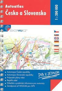 Obrázok Autoatlas Česko a Slovensko