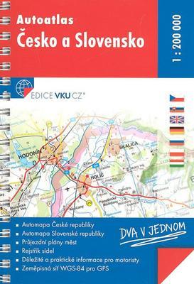 Autoatlas Česko a Slovensko