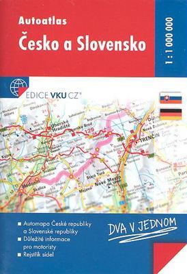 Autoatlas Česko a Slovensko 1:1 000 000