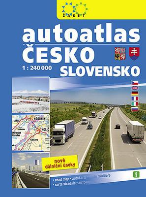 Obrázok Autoatlas Česko Slovensko 1: 240 T