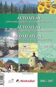 Obrázok Autoatlas cestovného lexikónu Slovenskej republiky