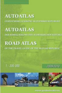 Obrázok Autoatlas cestovného lexikónu Slovenskej republiky 1: 200 000 Road atlas