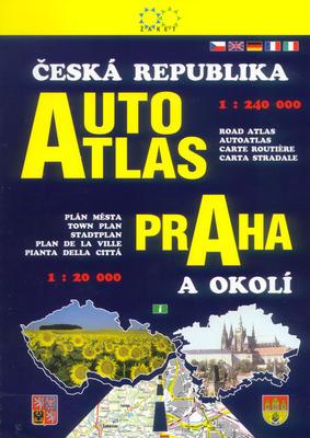 Obrázok Autoatlas ČR + Praha a okolí
