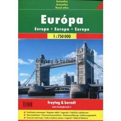 Obrázok Autoatlas Evropa 1:750 000