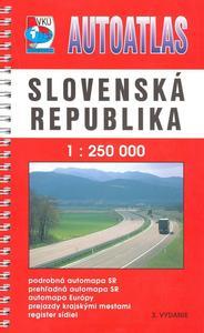 Obrázok Autoatlas Slovenská republika 1 : 250 000