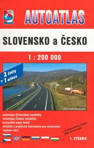Obrázok Autoatlas  Slovensko a Česko