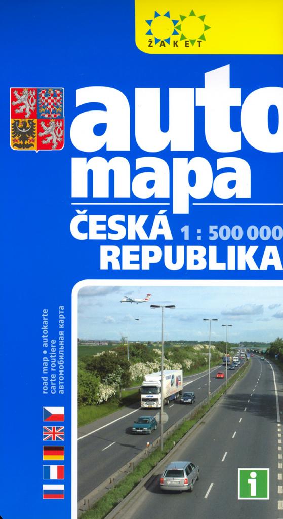 Automapa Cr 1 500 000 Knihcentrum Cz