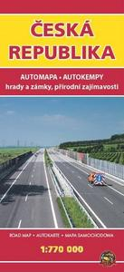 Obrázok Automapa ČR 1:770 000