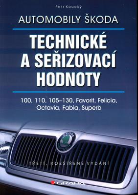 Obrázok Automobily Škoda Technické a seřizovací hodnoty