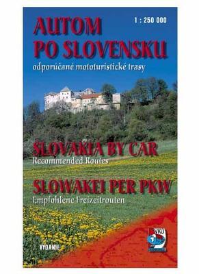 Autom po Slovensku Slovakia by car Slowakei per PKW 1 : 250 000