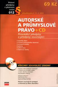 Obrázok Autorské a průmyslové právo + CD