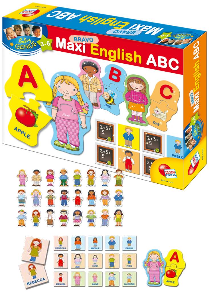 Baby genius bravo maxi abeceda english