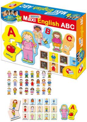 Obrázok Baby genius bravo maxi abeceda english