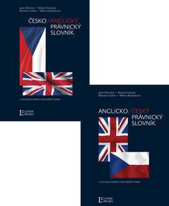 Obrázok Balíček 2 ks Anglicko-český, česko-anglický právnický slovník