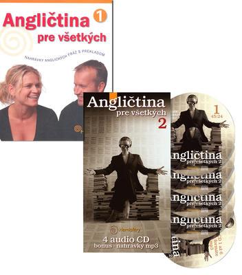 Obrázok Balíček 2ks Angličtina pre všetkých 1 + Angličtina pre všetkých 2