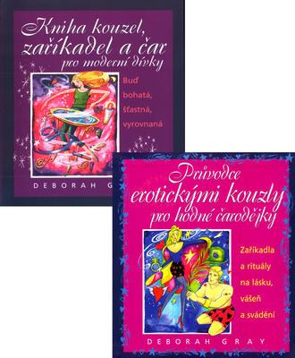 Obrázok Balíček 2ks Kniha kouzel, zaříkadel a čar...+ Průvodce erotickými kouzly pro....