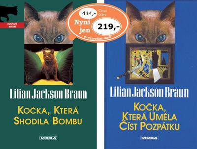 Obrázok Balíček 2ks Kočka, která uměla číst + Kočka, která shodila bombu