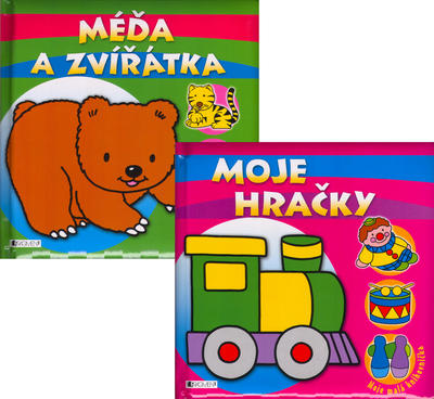 Obrázok Balíček 2ks Méďa a zvířátka + Moje hračky