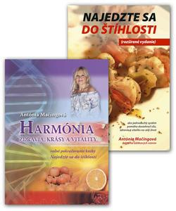 Obrázok Balíček 2 ks Najedzte sa do štíhlosti + Harmónia zdravia, krásy vitality